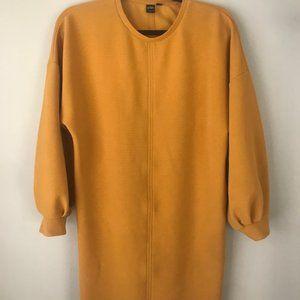 Maison Simons mustard dress size S